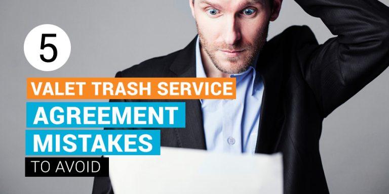 Valet Trash Service Agreement