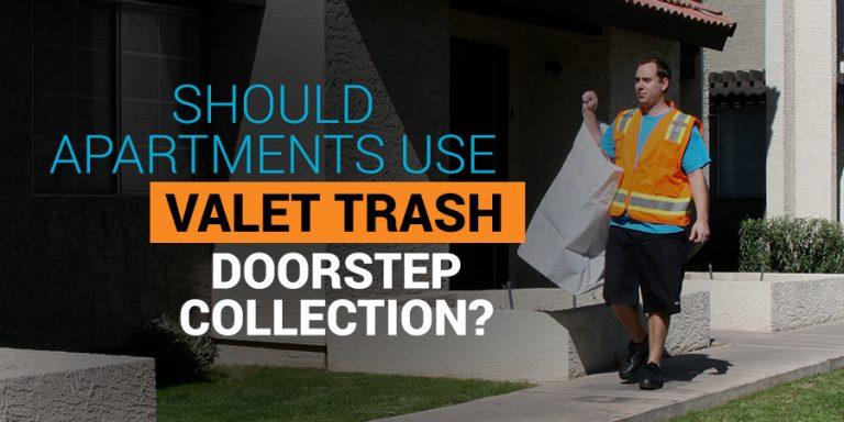 valet trash doorstep collection