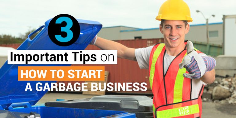 how to start a garbage business