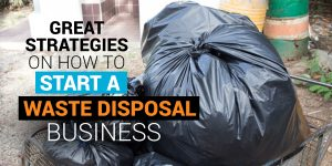 how to start a waste disposal business