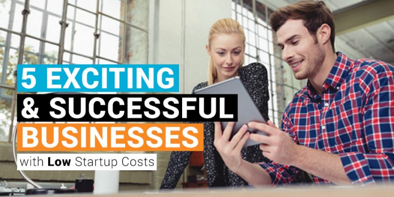 businesses with low startup cost