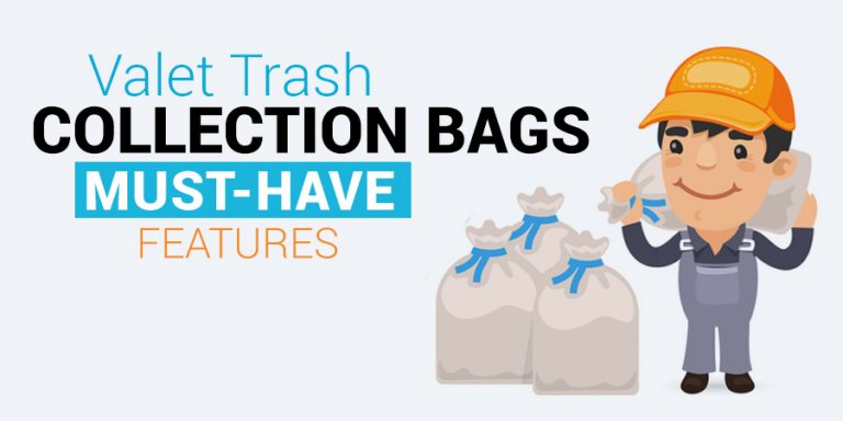 Valet Trash Collection Bags