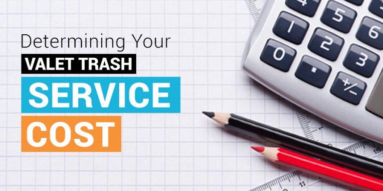 Valet Trash Service Cost