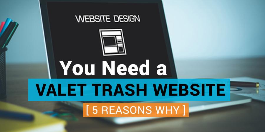 Valet Trash Website