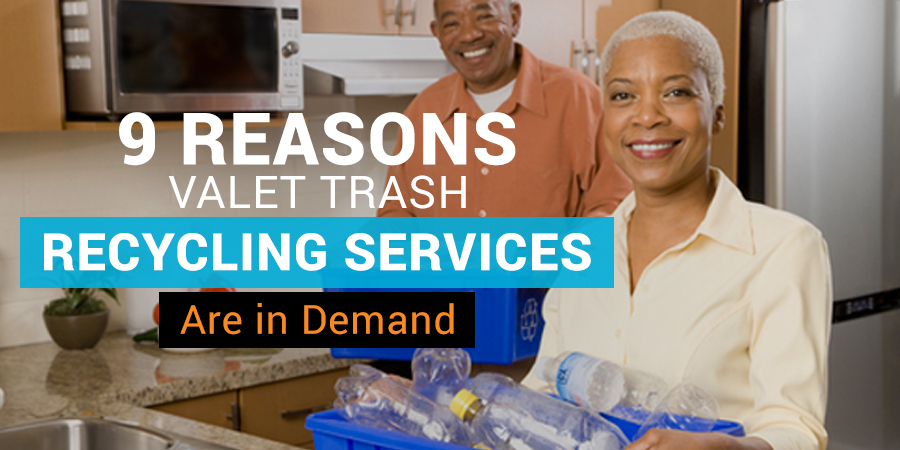 valet trash recycling services