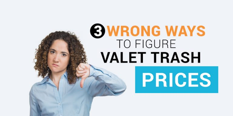 valet trash prices