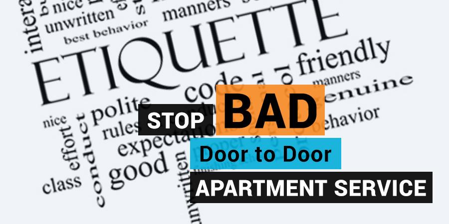 Door to Door Apartment Trash