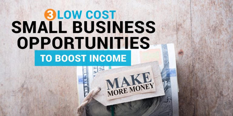 Low Cost Small Business Opportunities