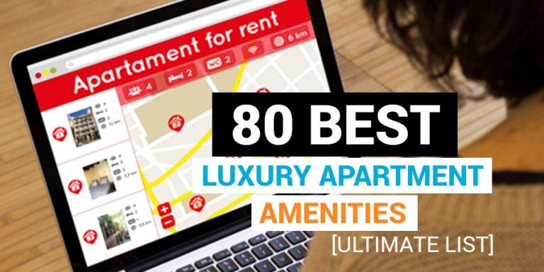 best luxury apartment amenities list