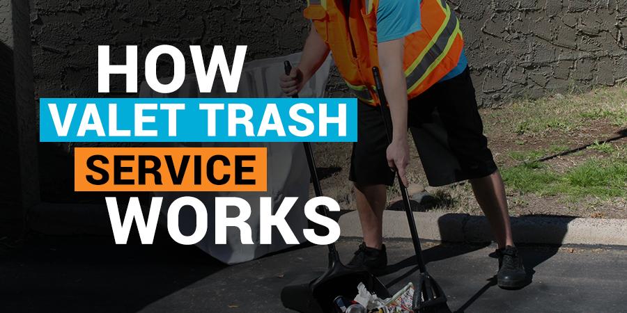 How Valet Trash Service Works